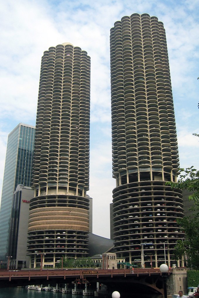 Chicago - Near Northside: Marina City | Marina City, mixed ...