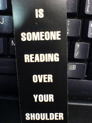 Is Someone Reading Over Your Shoulder? | by M.J.S.
