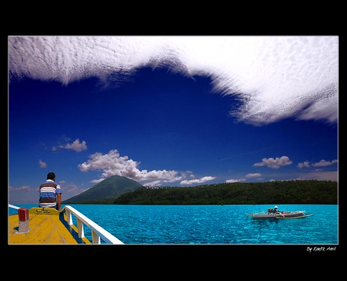 Blue of Bunaken | by Kaufik Anril