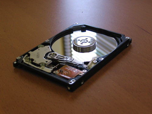 Disassembled Hard Drive | by Numinosity (Gary J Wood)
