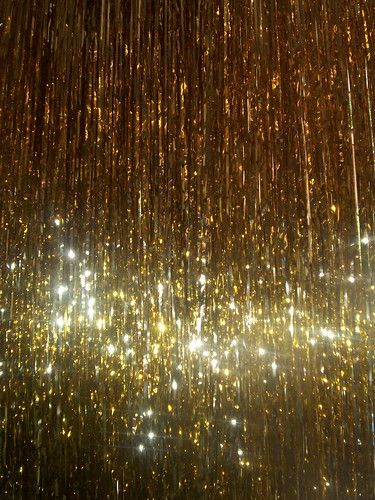 gold curtain | by PinkMoose