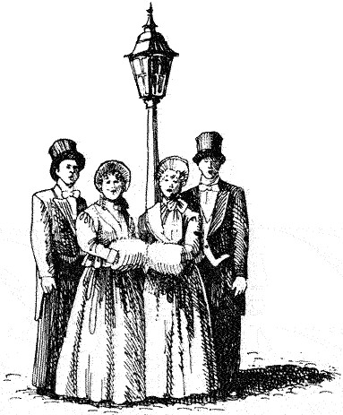 Similiar Victorian Christmas Carolers Clip Art Keywords