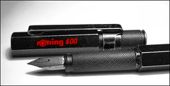 Rotring 600 fountain pen - my all time favourite pen | by gnawledge wurker