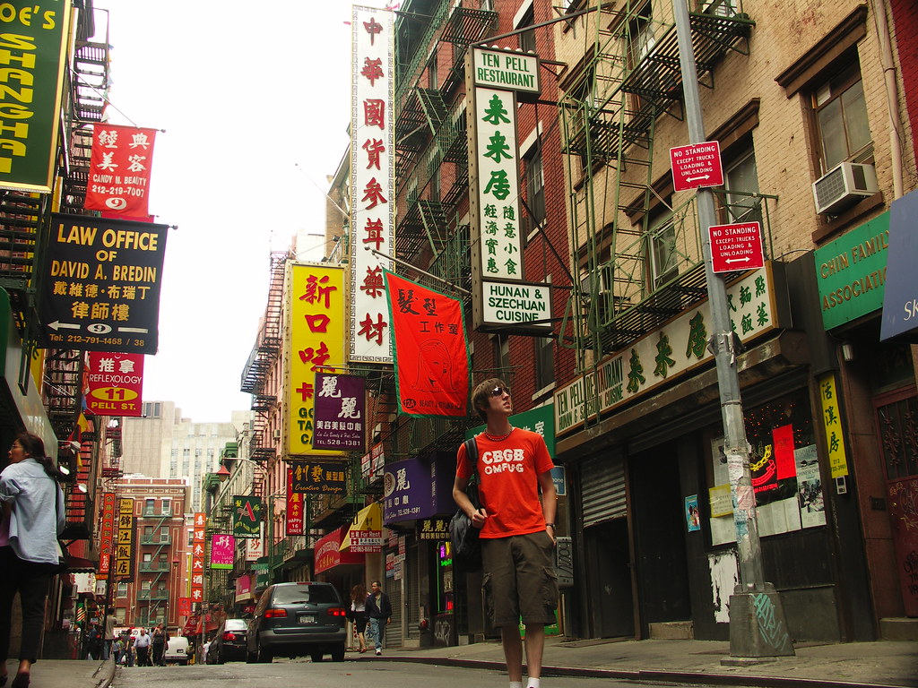 Chinatown Nyc Chinatown Pell St Nyc John Flickr