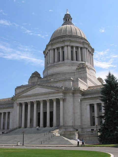 Washington state house the washington state house in for Washington state approved house plans