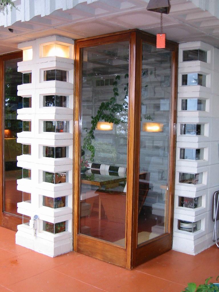 Frank Lloyd Wright Corner Doors I Visited The Tracy