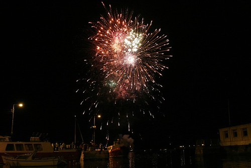 Cobh Peoples Regatta Fireworks | by Donncha Ó Caoimh