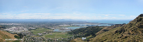 Christchurch new zealand landscape design panoramic pho for Landscape design christchurch nz