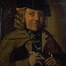 Portrait understood to be James Livingstone, town piper of Haddington