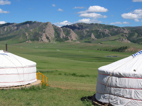 Camping in Mongolia | by mum49