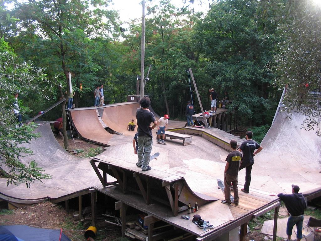 mini nel bosco this is the mini skatepark handmade by cecc u2026 flickr