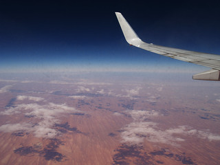Winging it over the Desert | by Cyron