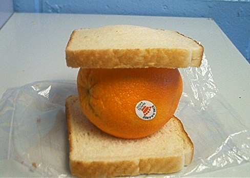 King Orange Sandwich How Silly From The High School
