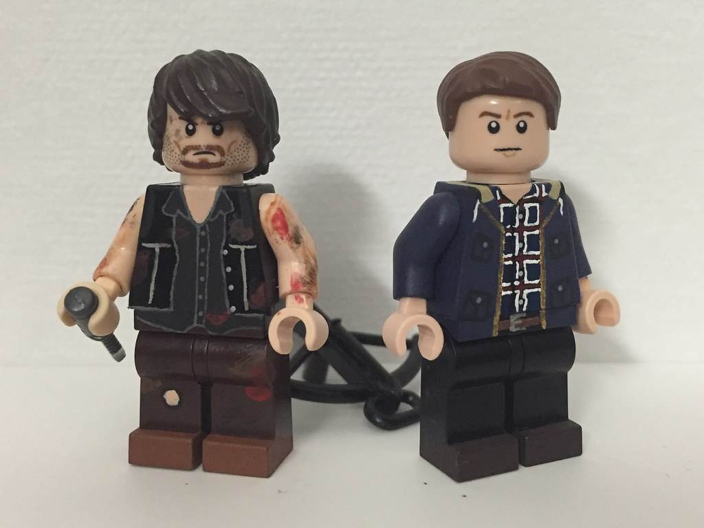 Walking dead lego daryl the walking -  Lego The Walking Dead Daryl And Aaron By Dalastprime