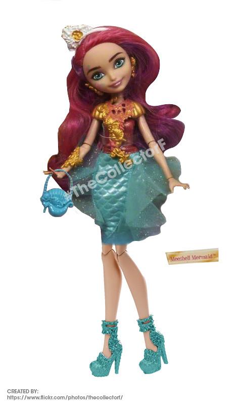 Eah Meeshell Mermaid Doll Modified By Me Hey Guys