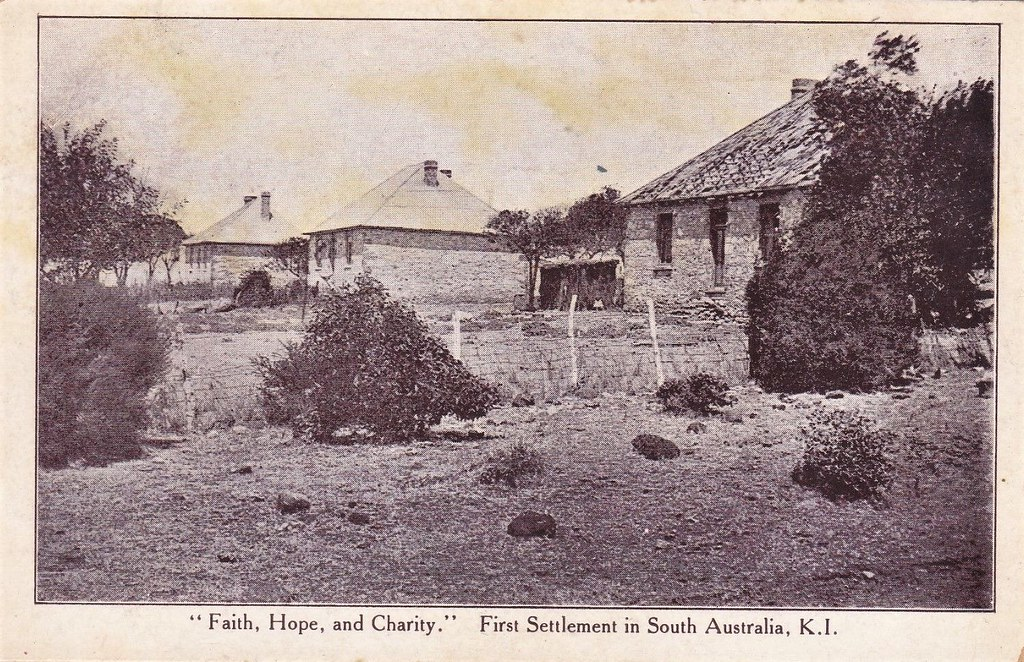 Faith Hope And Charity First Settlement On Kangaroo Isl