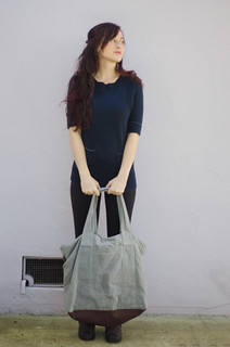 Wax canvas tote bag | by peneloping