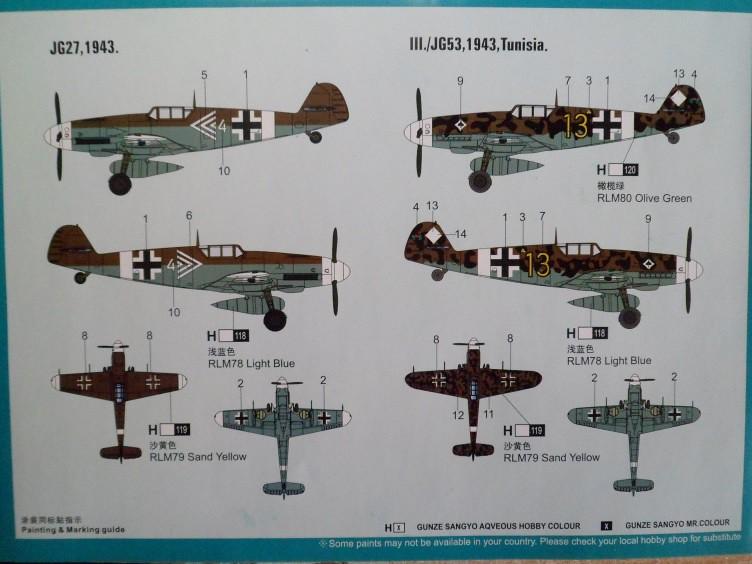 Ouvre-boîte Messerschmitt Bf 109 G-2 Trop [Hobby boss 1/72] 32343917860_9e290be71d_b