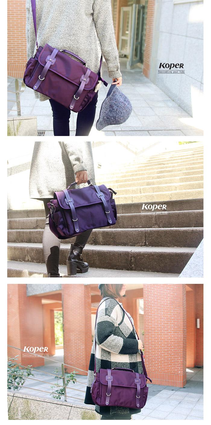 d090346961 KOPER  Music  charm light dance messenger bag - purple fantasy ...