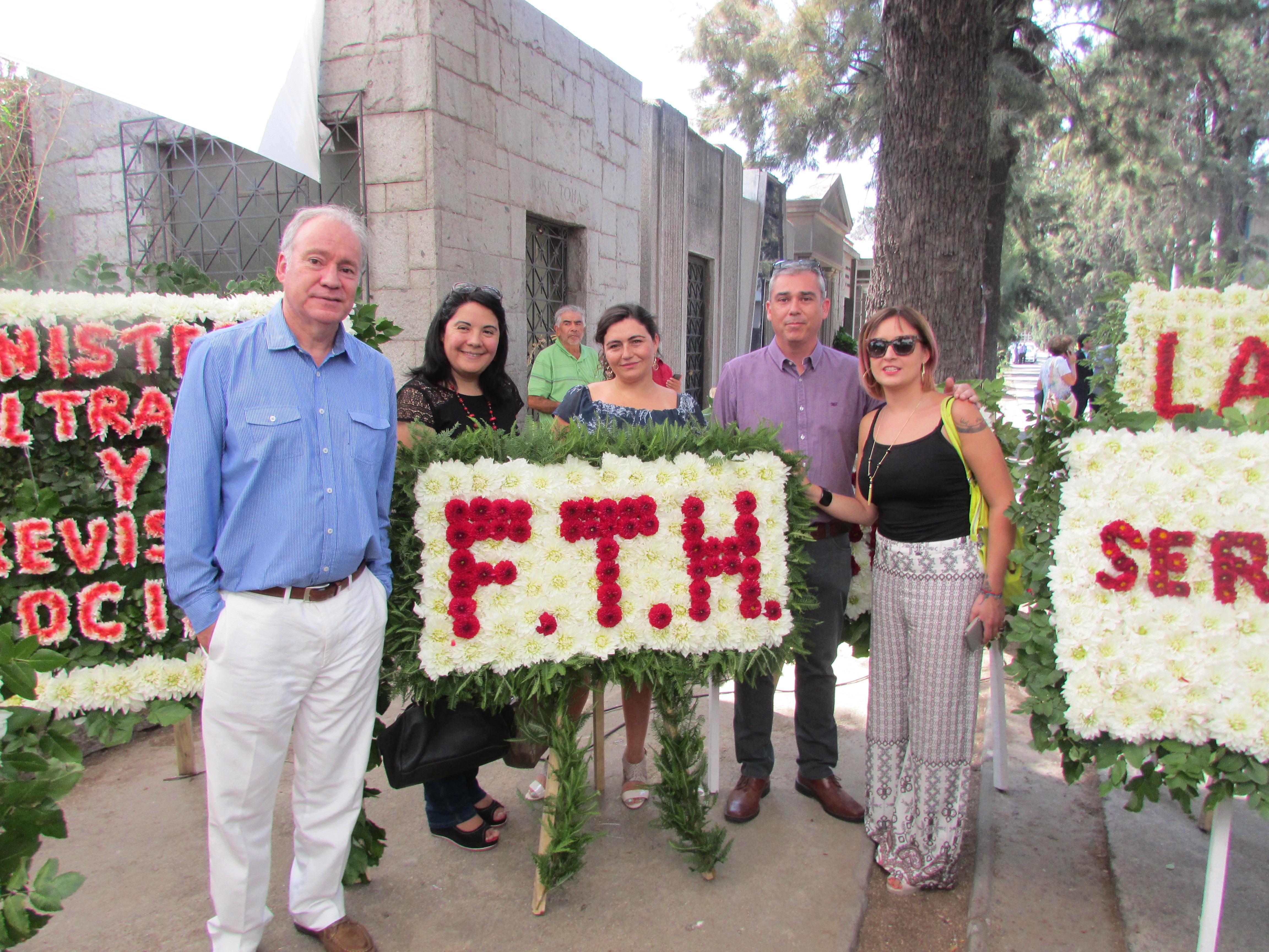 AFIICH en 35° Conmemoración de dirigente Tucapel Jiménez - 27 Febrero 2017