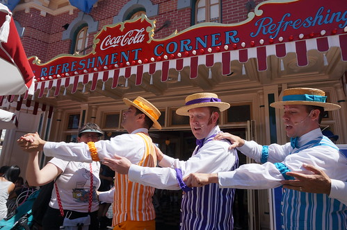 Tracey Dancing with the Dapper Dans | by Disney, Indiana