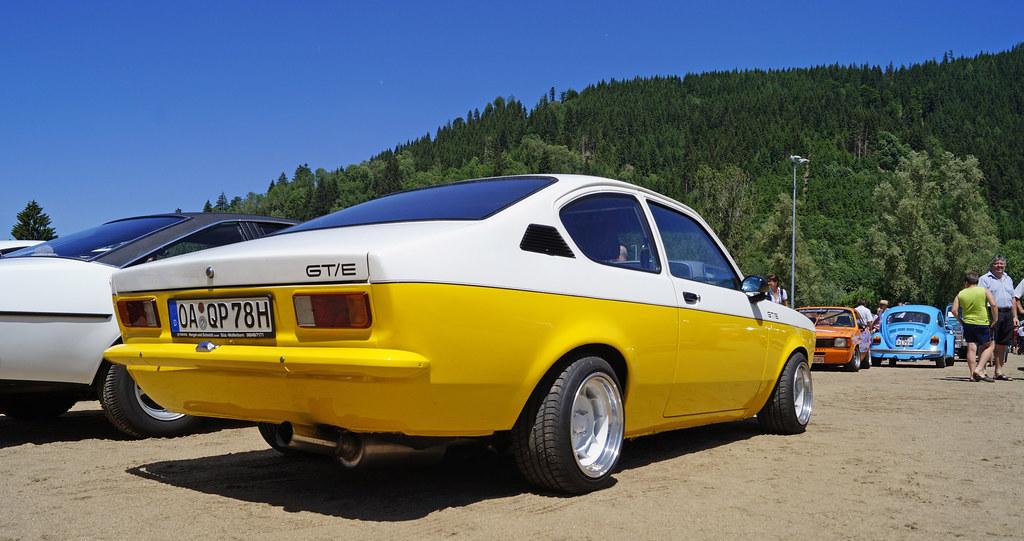 Opel Kadett C GTE Coupe mit 2.4 Liter von 1978 in weiß und ...