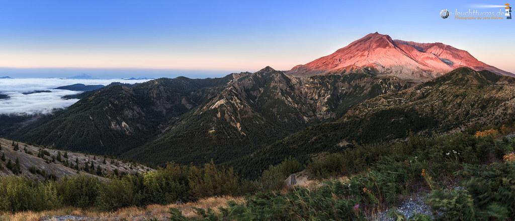Mount St. Helens east side