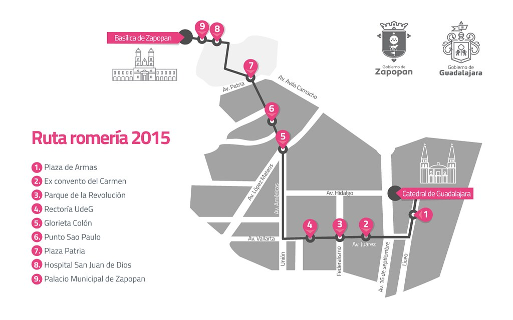 Conoce todo sobre la #Romería2015