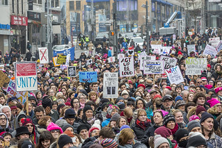 manif des femmes women's march montreal 11 | by Eva Blue