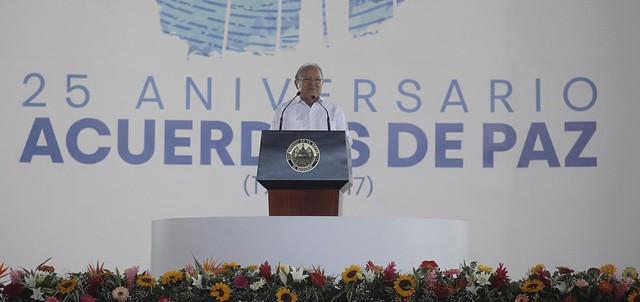 25 Aniversario de la Firma de los Acuerdos de Paz.