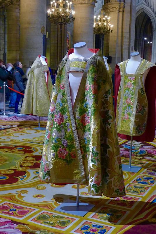 Exposition du tapis du chœur à Notre-Dame jusqu'au 14 janvier 2017, Paris