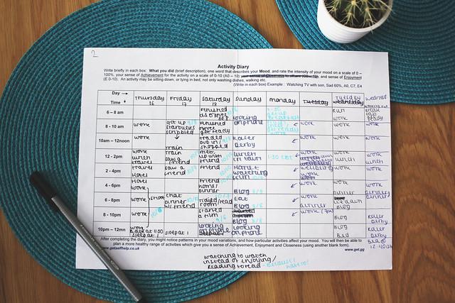 Activity Diary