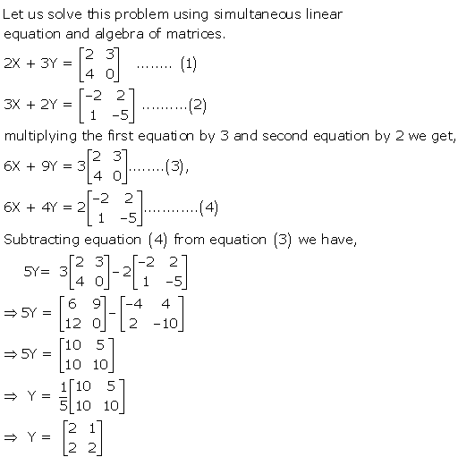 RD Sharma Class 12 Solutions Chapter 5 Algebra of Matrices Ex 5.2 Q20