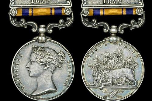 Charles Robson Zulu medal