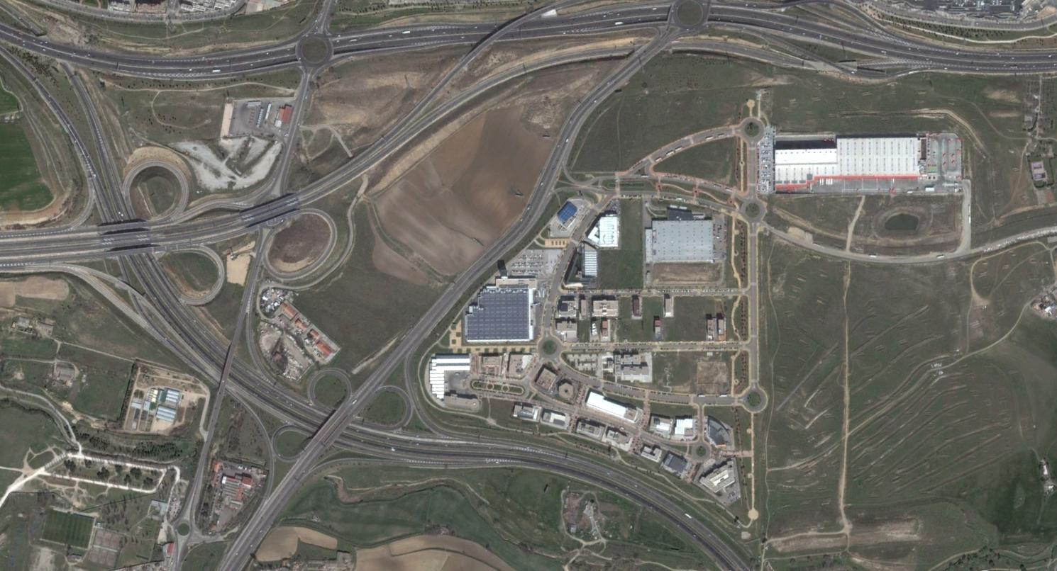 parque tecnológico de leganés, madrid, otro parque tecnológico, después, urbanismo, planeamiento, urbano, desastre, urbanístico, construcción, rotondas, carretera