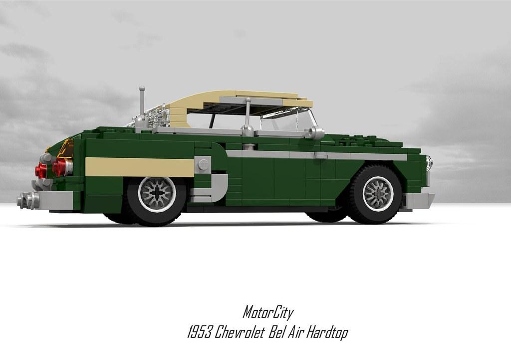 Motorcity 1953 Chevrolet Bel Air Hardtop First Generation Flickr