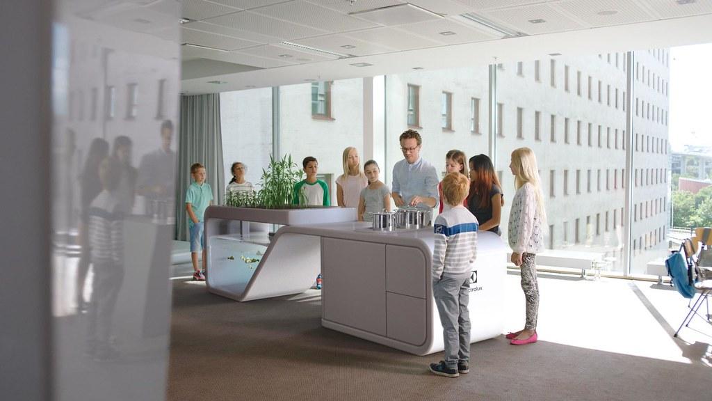 Future Classroom Finalist In Electrolux Design Lab 2015