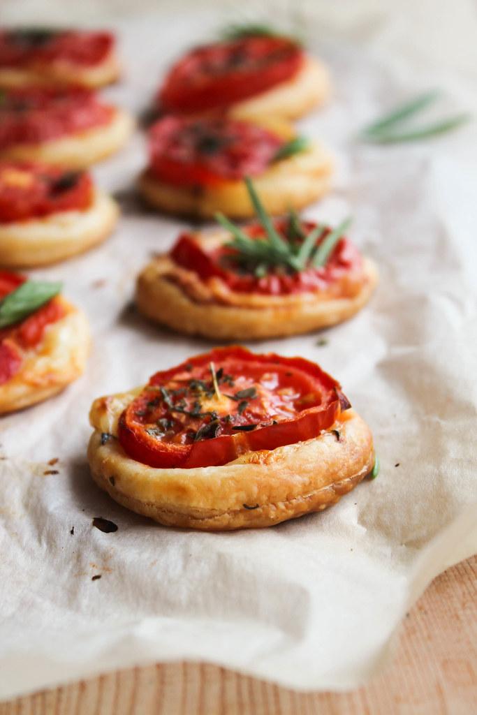 Tartelette tomate apéritif