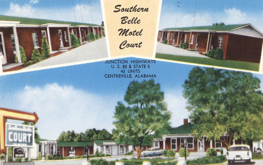Southern Belle Motel Court - Centreville, Alabama