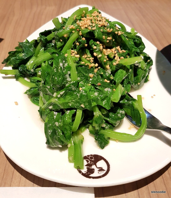 Snow Pea Leaves with Garlic Sauce