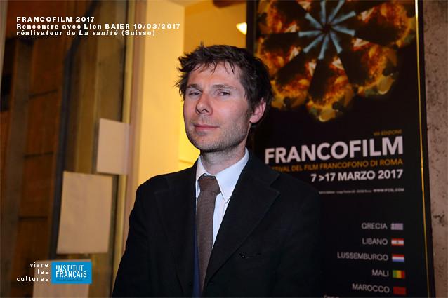 Francofilm 2017 - Lionel Baier
