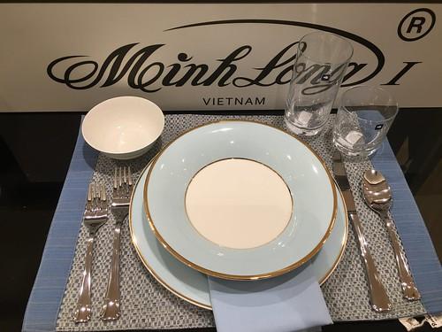 Minh Long, Vietnam dinner plates,  Rustan's