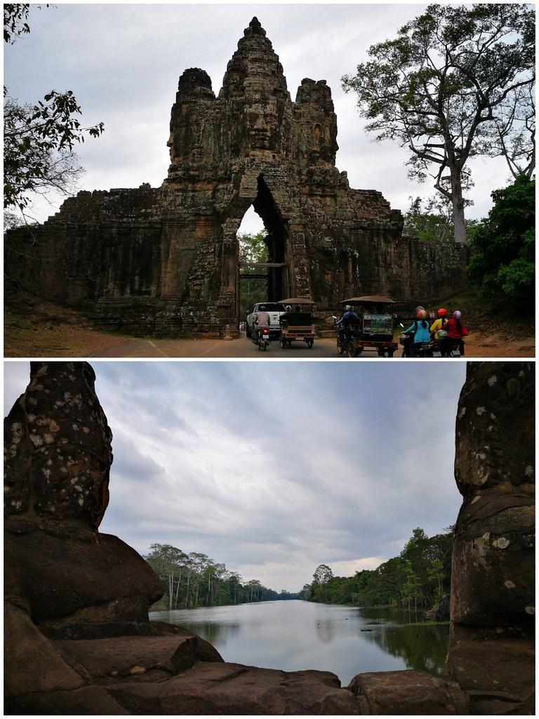 Entrance to Angkor Thom | www.wearejuanderers.com