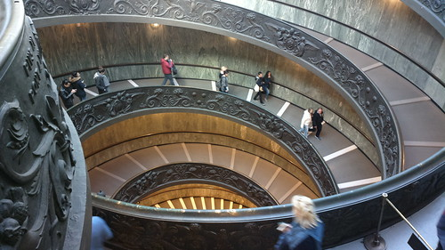 Vatican double-helix staircase | by hugovk