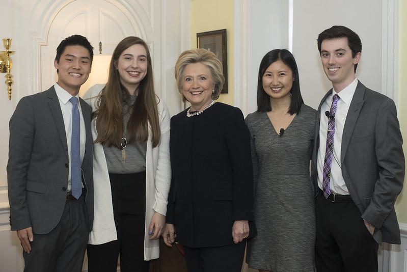 Hillary at Harvard