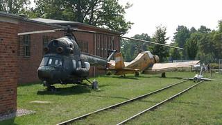 Mil Mi-2 & LET Z-37A Cmelak