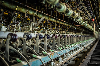 Silk Reeling Machine at Tomioka Silk Mill - UNESCO World Heritage Site | by aotaro