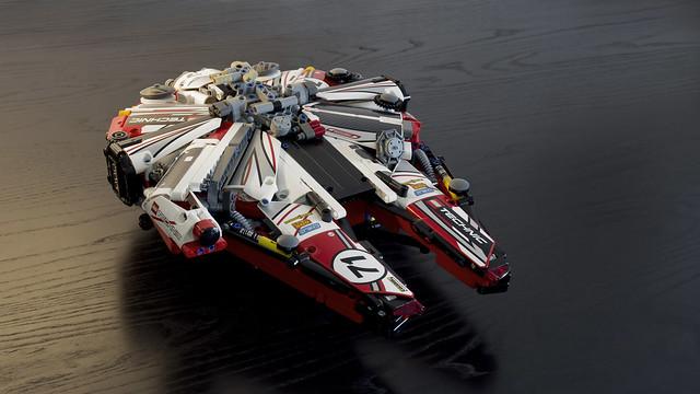 Technic Millennium Falcon, by Joe Gan, on Flickr