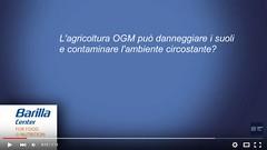 """L'agricoltura OGM può danneggiare i suoli e contaminare l'ambiente circostante? 2':15"""""""