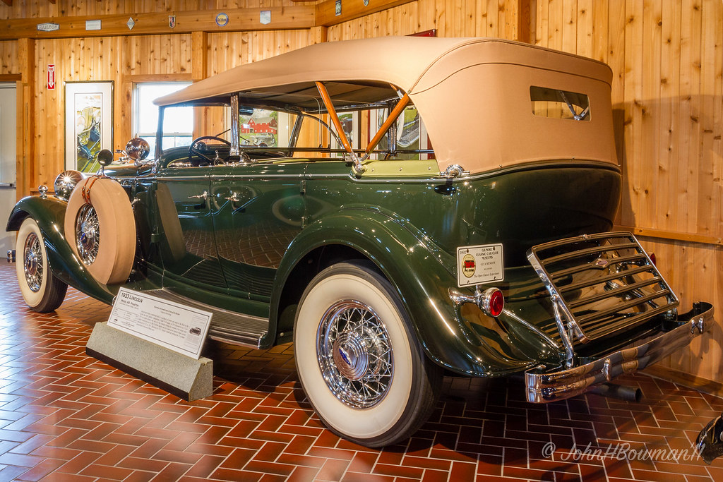 Image result for Classic car club of america museum 1933 lincoln kb